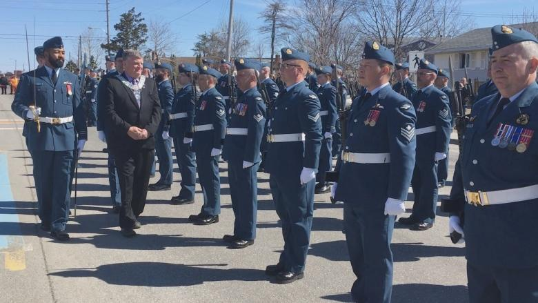 Search and Rescue squadron given 'Freedom of the City' in Gander