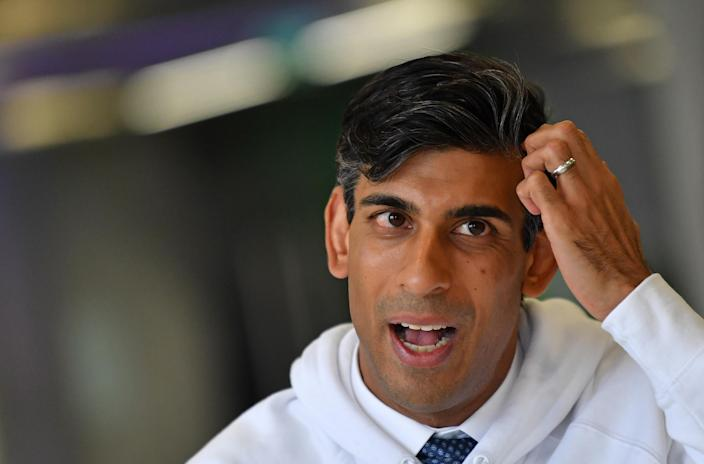 UK chancellor Rishi Sunak. Photo: Daniel Leal-Olivas/WPA Pool/Getty Images