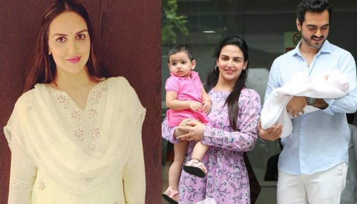 Esha Deol Gives 3 Valuable Lessons To Her Girls, Radhya And Miraya On The Occasion Of Daughter's Day