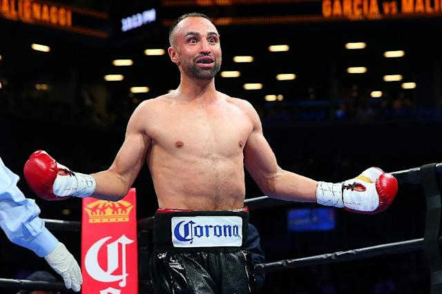 """Malignaggi, who retired from boxing five months ago, walked out earlier this month after he said McGregor disrespected him in the ring and the dressing room and housed him and the other sparring partners in accommodations resembling a """"crackhouse"""" (AFP Photo/Mike Stobe)"""