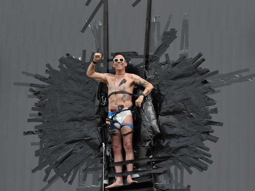 'I'm happy to just hang out': Jackass star Steve-O taped himself to billboard to publicise new comedy special: FilmMagic