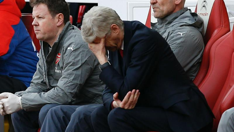 'Wenger Out' campaign hits Wrestlemania as Arsenal boss continues to face criticism