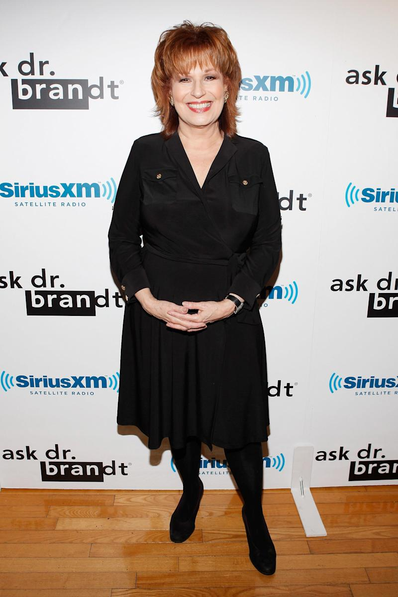 NEW YORK, NY - SEPTEMBER 26: Television personality Joy Behar attends Dr. Fredric Brandt's SiriusXM launch event at SiriusXM Studio on September 26, 2011 in New York City. (Photo by Cindy Ord/Getty Images)