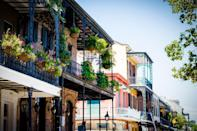 <p>Louisiana was once ruled by the French, and nowhere is that more apparent than in New Orleans. The French Quarter in the city will make you feel like you're literally on the French Riviera, while the old building have a distinctly European look. The authentic beignets everywhere only add to that feel. </p>