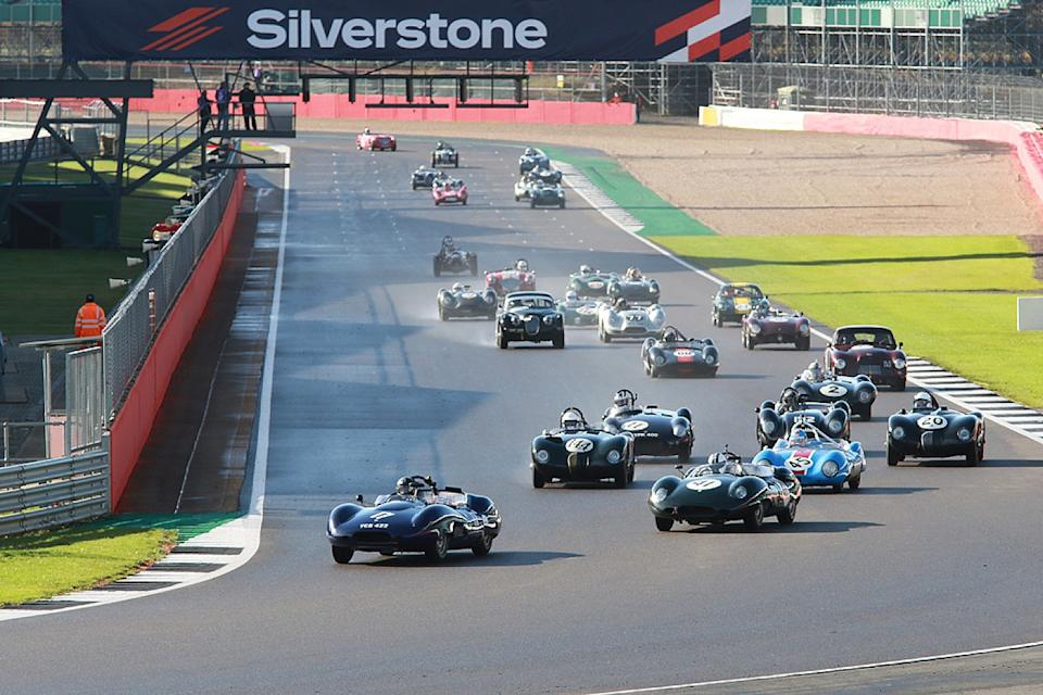 Teams hail Historic TT meeting at Silverstone a hit