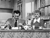 <p>Lucy and Ricky Ricardo ate breakfast together at their kitchen countertop every morning rather than a typical dining table—a space-saving trick that apartment dwellers employ to this day.</p>