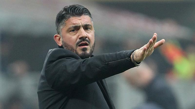 AC Milan coach Gattuso satisfied with victory over Crotone