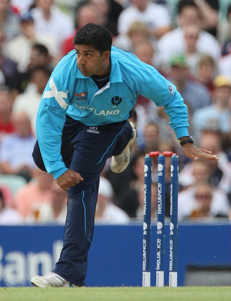 Majid Haq (Scotland): The 29-year-old off-spinner took 17 wickets from nine matches at an average of 11.52, economy rate of 5.49 and strike rate of 12.5. Haq's best figures in the tournament were 3-12.
