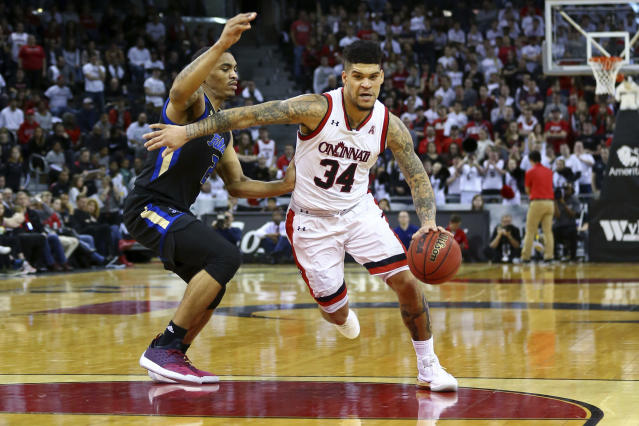 Jarron Cumberland has certainly had better defensive possessions than what happened against Wichita State. (AP Photo)