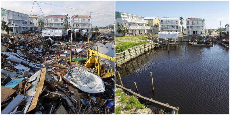 PHOTO GALLERY: Looking back at hurricane damage