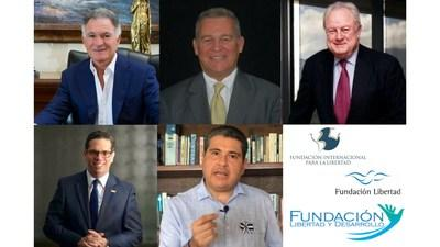 """Dionisio Gutiérrez participates in the online conference """"Pandemic and crisis in Central America"""" hosted by Fundación Internacional para la Libertad"""