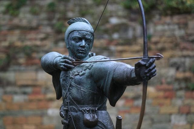 The Robin Hood statue in Nottingham (Mike Egerton/PA)