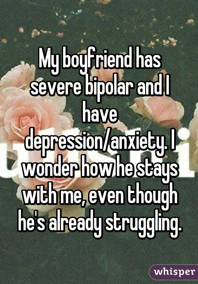 Dating someone with severe anxiety