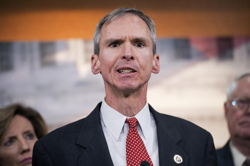 Rep. Dan Lipinski (D-Ill.) is facing a challenge from businesswoman Marie Newman in the Democratic primary. (Tom Williams/Getty Images)