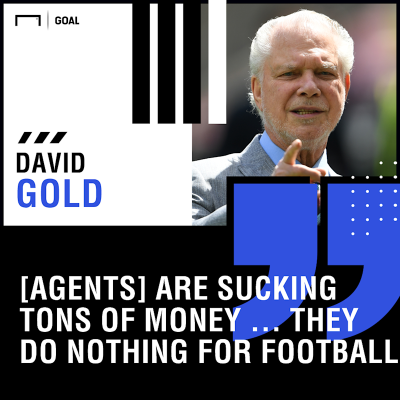 'Agents do nothing but suck tons of money out of football' - West Ham owner Gold calls for crackdown
