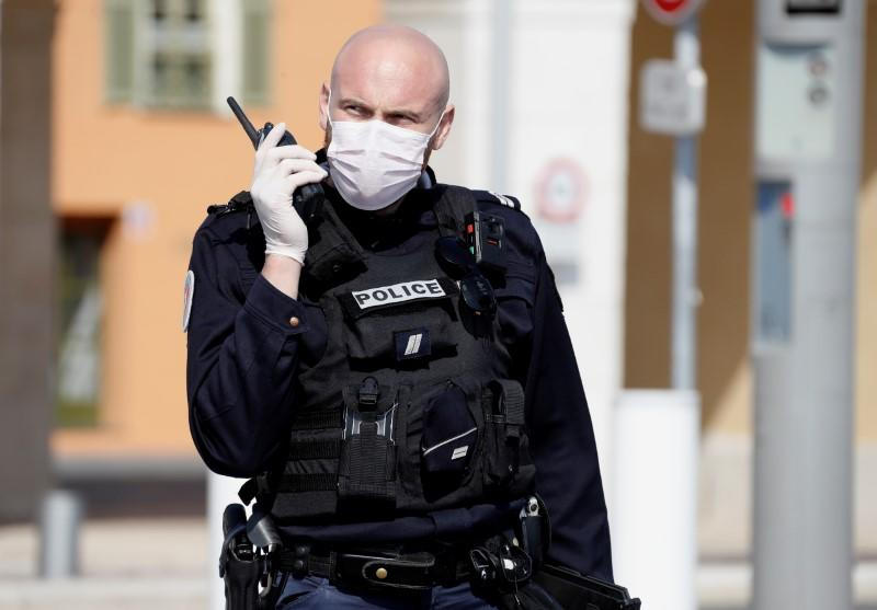 Wearing of masks made compulsory in much of French city of Nice