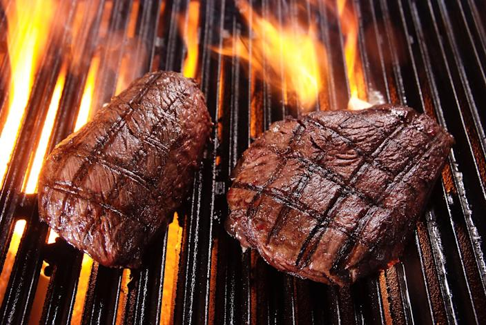 Steaks should be grilled or cooked in a pan on the stove (Stock)