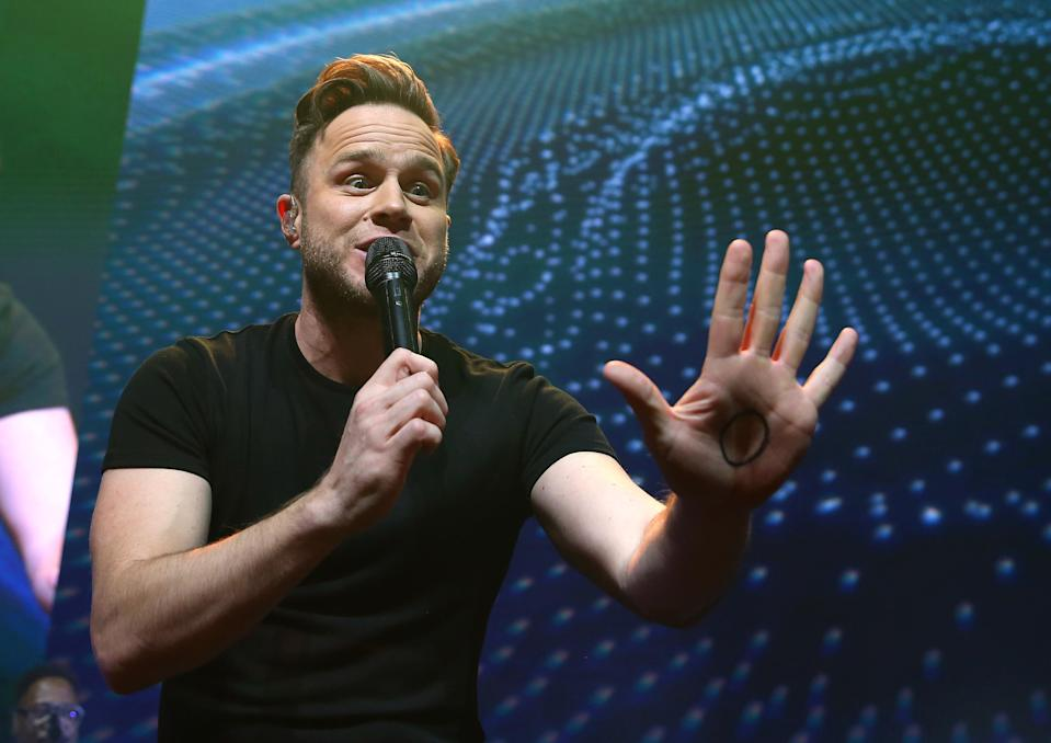 Olly Murs performs live on stage during 'Music 4 Mental Health' at The Roundhouse on November 18, 2018 in London, England. (Photo by Simone Joyner/Getty Images)