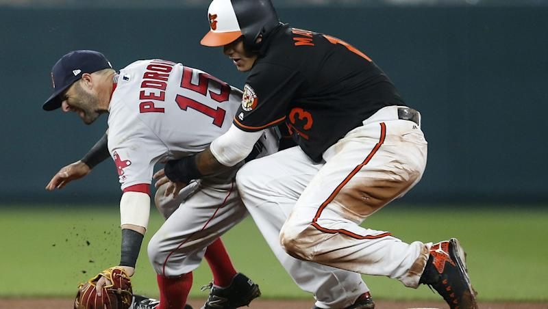 Barnes: Red Sox haven't forgotten about Machado taking out Pedroia