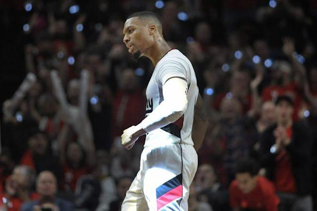 Damian Lillard and the Blazers are 8-7 this season. (Getty Images)