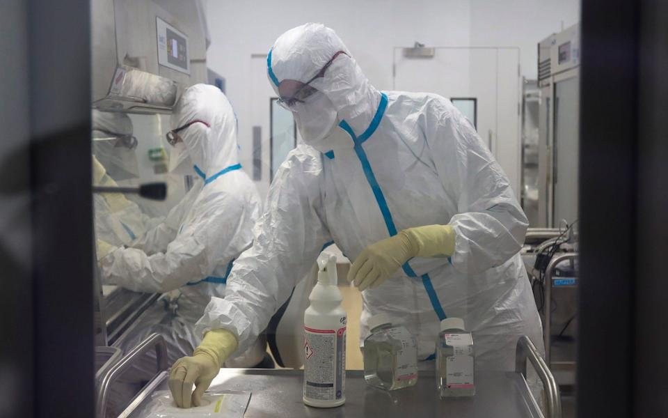 Drugs company Valneva is due to start mass manufacturing the jab at its plant in Livingston in Scotland - Michael McGurk/The Telegraph