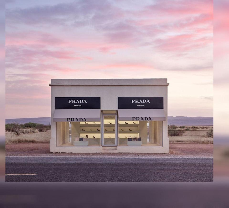 <p>PRADA MARFA (Courtesy of @sharahidalgo/Instagram)</p>