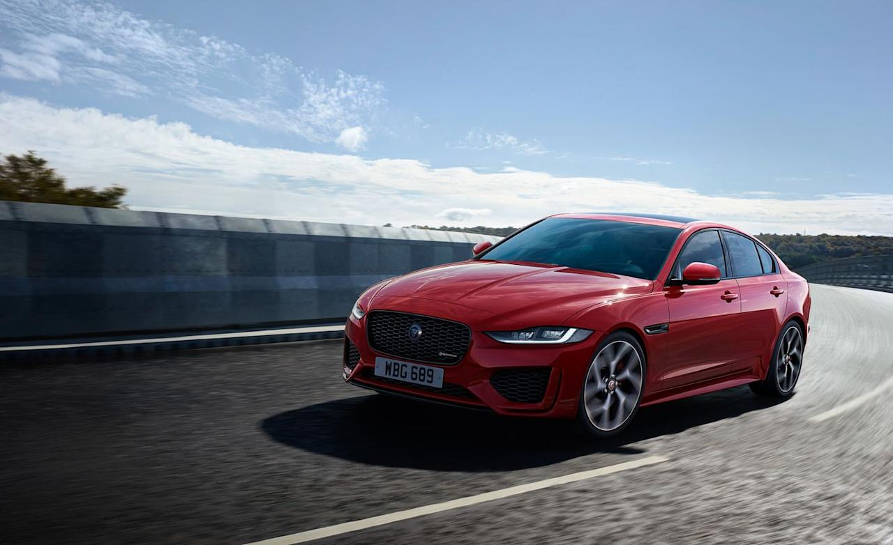 <p>As for the XE, which for 2020 comes only in newly christened P250 and P300 guises (the previous V-6 models are dead), it finally feels like the sport sedan that Jaguar needs.</p>