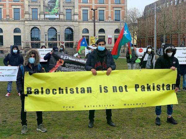 The Free Balochistan Movement organised a rally and held a protest demonstration in Germany's Bremen city on March 27