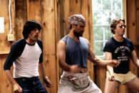 """<p>It has """"summer"""" in the title—<em>of course</em> we were going to include <em>Wet Hot American Summer</em>, a satirical comedy set at a camp in the '80s, on this list. </p> <p><a href=""""https://cna.st/affiliate-link/9hgk6wSq2JJ5SRrXHWP3AUHwUPQ9dftG5tdY83y9ZWaXY2oMtiZQEQ11Ng5GBDzw13Um3Ani6z7smL4TxJvshvKhj2VXNKf68W3yoyXSuWA4sKEiS9cWEdXEDqNUBg5Gaew9arFCKfbE4LAWsq6s4PghVa71yJhXziNHj9v9d6kaZ4xPKUZREQ73T66fDrYKhy?cid=60abb07de72b0c49cd96cd2c"""" rel=""""nofollow noopener"""" target=""""_blank"""" data-ylk=""""slk:Available to stream on Peacock"""" class=""""link rapid-noclick-resp""""><em>Available to stream on Peacock</em></a></p>"""