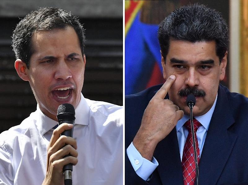 The US and some EU countries have backed Juan Guaido as Venezuela's acting president while Russia and China support President Nicolas Maduro