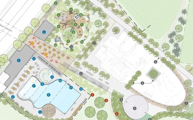 The municipality plans to redevelop the aquatics area on the Halifax Common.
