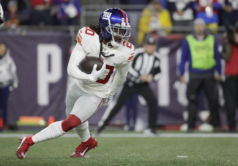 Janoris Jenkins seems giddy about getting waived by the Giants