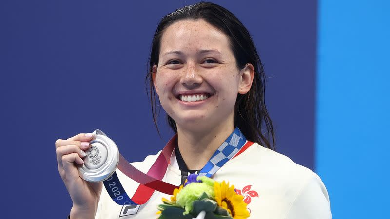 Swimming - Women's 200m Freestyle - Medal Ceremony