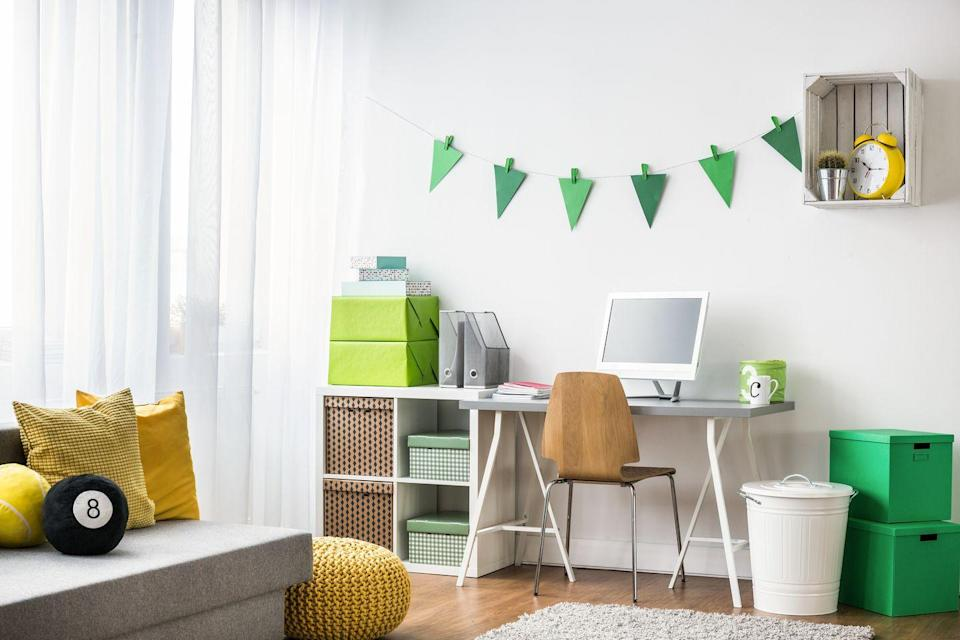 """<p>Designate a study space in the home that is quiet and conducive to focus. """"It doesn't need to be anything fancy — a small desk or folding table that is outfitted with everything [they need] to help them complete their work successfully,"""" says Meredith Essalat, a San Francisco-based principal and author of <a href=""""https://www.amazon.com/Overly-Honest-Teacher-Parenting-Classroom/dp/1951412052"""" rel=""""nofollow noopener"""" target=""""_blank"""" data-ylk=""""slk:The Overly Honest Teacher"""" class=""""link rapid-noclick-resp"""">The Overly Honest Teacher</a>. Their space should also have access to an outlet for charging, and a white board or calendar. """"When the school day is done, be sure to have them straighten up their desk in anticipation for the next day,"""" she says.</p>"""
