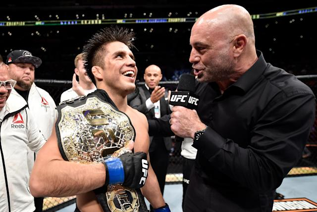 Henry Cejudo's journey to the UFC flyweight championship has been anything but easy. (Getty Images)