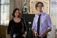 "<p>Season 10 of <em>Criminal Minds </em>brought with it a new member of the team: Kate Callahan, played by Jennifer Love Hewitt. Like the boss she is, the former undercover FBI agent chased unsubs with the BAU team while pregnant. However, when Jennifer found out she was pregnant in real life, she decided to leave the show, and Kate handed in her resignation after a crime against her family was the focus of the season finale. </p><p>""It's the first time I've been on a show that I'm not producing and didn't put together,"" she told <em><a href=""https://ew.com/article/2014/09/30/criminal-minds-jennifer-love-hewitt-spoilers/"" rel=""nofollow noopener"" target=""_blank"" data-ylk=""slk:Entertainment Weekly"" class=""link rapid-noclick-resp"">Entertainment Weekly</a></em> of her experience joining the show. ""I'm just a cast member. It's their house and I'm just really honored to be invited in. It's fun for me. It's different in every way possible, but it's really great.""</p>"