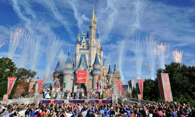 Disney's shares are up 51 percent since last year.