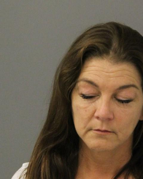 Gretchen Wilson had her eyes closed in her mug shot, taken on Aug. 21 after she allegedly caused a disturbance on an airplane and became belligerent toward Connecticut State troopers. (Photo: Connecticut State Police)