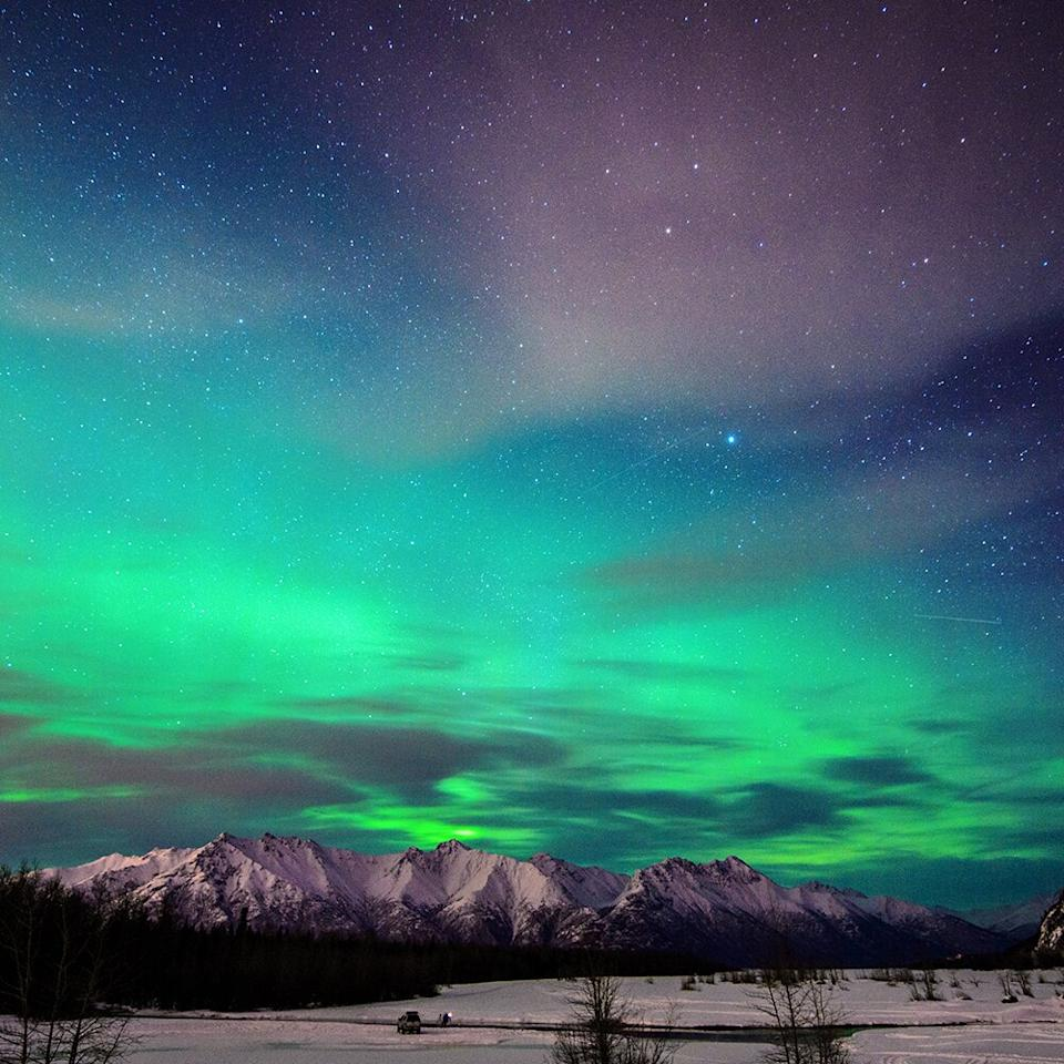 """<p>If you're craving some serious natural beauty, consider heading to this Alaskan city. """"Most people visit Alaska in the summer when temperatures are higher, but consider visiting in the winter, when the stunning Northern Lights are visible and hotel rates are much lower,"""" says Brian Han, a <a href=""""https://www.hoteltonight.com/"""" target=""""_blank"""">HotelTonight</a> marketing executive and their resident travel expert. There's also plenty of skiing, snowboarding, and snowmobiling here, if that's what you're after.</p>"""