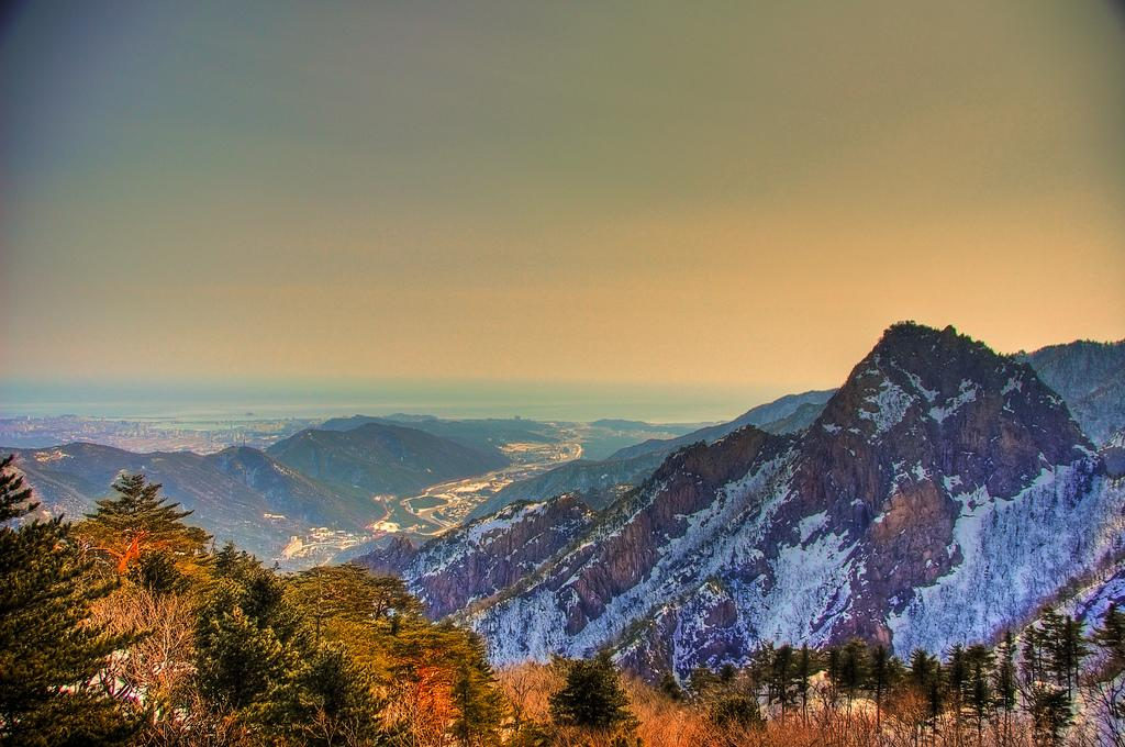 <p>Thanks to the Pyeongchang Winter Olympics that South Korea hosts this February, the scenic Taebaek Mountains have become easier to access because of a high-speed railway line. With new hotels built just in time for the games mushrooming and some stunning slopes, South Korea may well be the answer to your skiing conundrum.<br /> Photograph: Mendhak/Flickr </p>