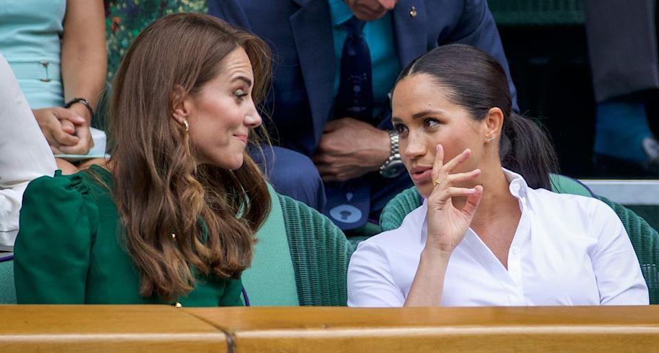 Kate Middleton and Meghan Markle (Photo: Getty)