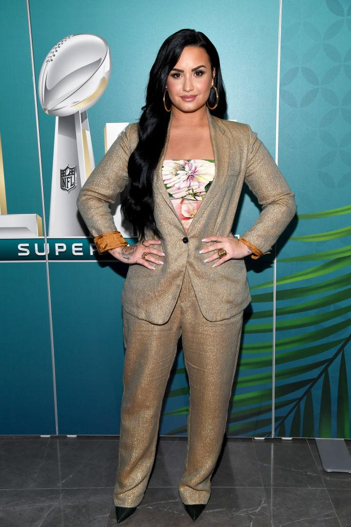 Demi Lovato shared her stance on gender reveal parties. (Photo: Kevin Mazur/Getty Images for SiriusXM)