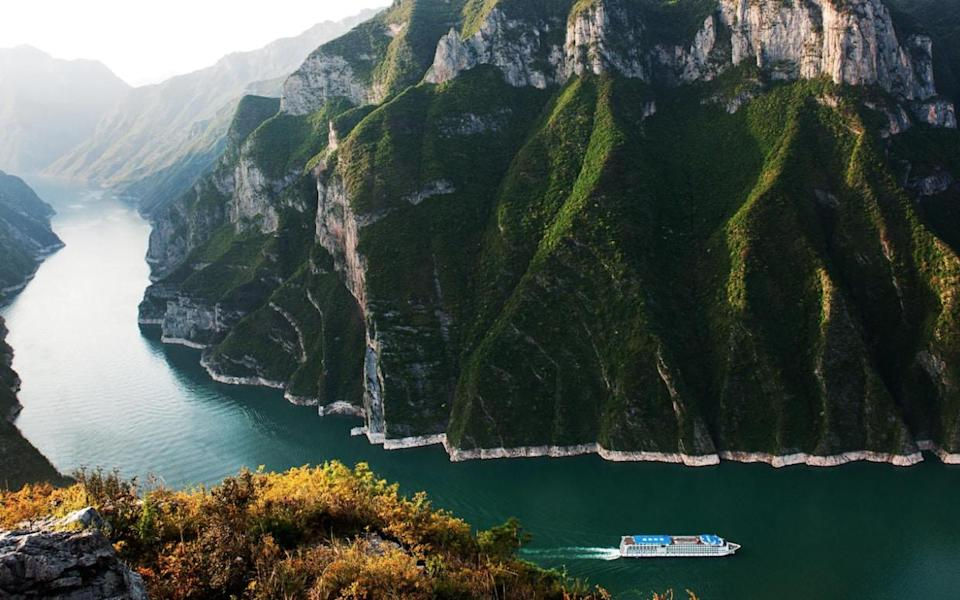 The Three Gorges are found in one of the Yangtze river's most spectacular sections - Getty