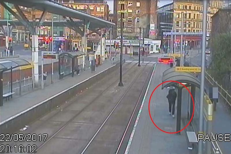 Abedi pictured on CCTV (PA Images)