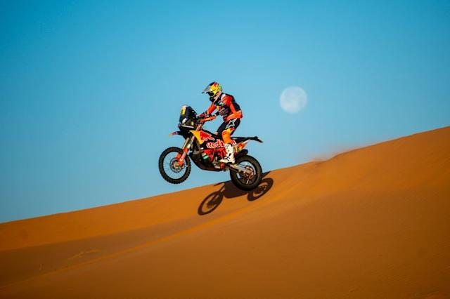 """#16 Red Bull KTM Factory Racing: Luciano Benavides <span class=""""copyright"""">Red Bull Content Pool</span>"""