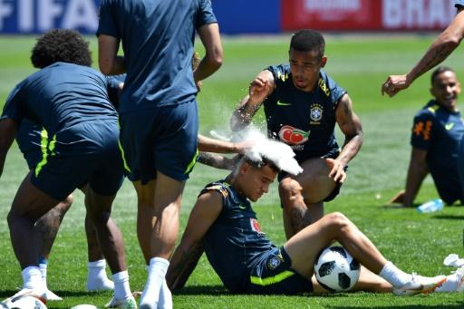 Philippe Coutinho gets special treatment from his Brazil teammates on his birthday
