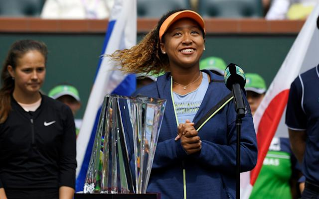 "Naomi Osaka had just won her first WTA title on Sunday, and was understandably finding it hard to put the achievement into words. She giggled, fidgeted and rambled, before admitting ""this is probably going to be the worst acceptance speech of all time"". The Indian Wells crowd laughed, and fell in love with Osaka just a little bit more. Because over the previous two weeks, they - and the wider tennis world - have been given an introductory seminar into the weird and wonderful world of Naomi Osaka. Not only did Osaka, 20, beat the current world No 1 and two former incumbents, as well as a former No 2, to claim her maiden title - the biggest event outside of the grand slams - she smiled and quipped her way through the tournament as if she was playing a game of bat and ball in her back garden. Osaka is in lots of ways a little different. In fact in a world of cliches and platitudes, she is to tennis as Donald Trump is to diplomacy. Unfiltered, unabashed and unique, Osaka speaks with a child-like wonder where the word ""like"" is never more than a couple of sentences away. Apologies if this is a very dated reference, but the cadence and rhythm of Osaka's voice makes her sound like Alyson Hannigan's character Michelle in the American Pie films. As an illustration of Osaka's quirkiness, take this response to a press conference question two years ago about her career ambitions. ""To be the very best, like no one ever was,"" Osaka said, before smiling expectantly. ""This is probably going to be the worst acceptance speech of all time"" - @BNPPARIBASOPEN champion @Naomi_Osaka_ We beg to differ! #BNPPO18pic.twitter.com/4XpckdmLtq— WTA (@WTA) March 18, 2018 After realising that no-one was on her wavelength, she added: ""That's a Pokémon quote, I'm sorry. That's the Pokémon theme song. But, yeah, to be the very best, and go as far as I can go."" By becoming the youngest Indian Wells winner in a decade and after reaching a career high ranking of No 22, one could be forgiven for viewing Osaka as an overnight success. The reality though is she has been talked about for some time, partly because of her intriguing heritage. The daughter of a Japanese mother and Haitian father, Osaka was born in Japan but moved to the US at the age of three. She grew up in Florida and still lives and trains there. Osaka is proud of her Haitian and American heritage but plays under the Japanese flag despite not being able to speak the language. This has made for some amusing press conferences where the Japanese media has tried and failed to understand her off-beat humour in a language they are not entirely familiar with. ""For us, it's really tough to get to know her personality,"" Japanese reporter Aki Uchida told The New York Times in 2016. ""Even in English, she keeps making some random jokes. She keeps making some jokes which we don't understand. It's tricky. We don't know if it's from different cultures, her personality, or could be generation gaps."" In fairness to Uchida even some English-speaking journalists have been a little bewildered by Osaka's curious brand of Pokemon quotes and knock-knock jokes. Osaka for her part says of trying to understand Japanese: ""It's really fast; sometimes it sounds like they're rapping, so then I'm just like: I didn't hear the first part of the question. Then I look like an idiot, and I don't want to look like an idiot."" Such is Osaka's playfulness off the court that it's easy to to lose sight of her considerable talent. Osaka possesses a devastatingly powerful game, built around a potent serve that has clocked 125mph and a forehand that flies through the air at speeds of more than 100mph. While still in her teens, Osaka reached a Tour final, cracked the world's top 50 aged and won the WTA's newcomer of the year award for 2016. She continued to improve last year, and thumped the reigning champion Angelique Kerber 6–3, 6–1 in the US Open first round. Then at the end of 2017, Osaka teamed up with coach Sascha Bajin, who has previously worked with Serena Williams, Victoria Azarenka, and most recently Caroline Wozniacki. Bajin has worked specifically on improving Osaka's movement and backhand, and the partnership has paid immediate dividends. In January, Osaka reached her first grand slam fourth round at the Australian Open - though in typically self-effacing style she felt compelled to apologise to the Melbourne crowd after getting there. It's really fast; sometimes it sounds like they're rappingNaomi Osaka on trying to understand Japanese ""I feel really happy, but also kind of sorry because I know you guys really wanted her [Australian Ashleigh Barty] to win,"" Osaka said sheepishly. Osaka's improvement has not gone unnoticed by her competitors. Serena Williams said of the youngster: ""She's really young and really aggressive. She's a really good, talented player. Very dangerous."" Osaka, who is drawn to face Williams in the Miami first round this week, has admitted to being so star struck by the American that she has pretended to be on her phone in front of her. On one occasion, Osaka joked that she started hugging the wall to try and be invisible when Williams entered the locker room. After being brutalised by Osaka on Sunday, fellow 20-year-old Kasatkina said: ""She's really very powerful, serving good, doesn't have weaknesses."" Beyond the Baseline 