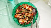 """<a href=""""https://www.bonappetit.com/recipe/cheesy-charred-green-beans?mbid=synd_yahoo_rss"""" rel=""""nofollow noopener"""" target=""""_blank"""" data-ylk=""""slk:See recipe."""" class=""""link rapid-noclick-resp"""">See recipe.</a>"""