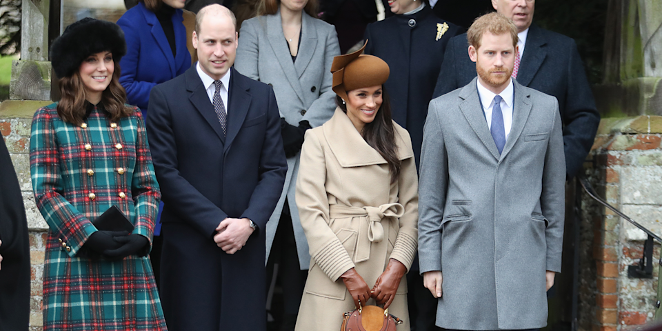 """<p>Christmas at Sandringham is legendary, so much so that only spouses of the Queen's invitees are allowed to attend. Back in 2010, even Kate didn't get to go—she was engaged to Prince William, but she didn't marry him until April 2011. However, Prince Harry <a href=""""http://people.com/royals/why-meghan-markle-spending-christmas-with-the-queen-is-such-a-big-deal/"""" rel=""""nofollow noopener"""" target=""""_blank"""" data-ylk=""""slk:asked his grandmother"""" class=""""link rapid-noclick-resp"""">asked his grandmother</a> to make an exception for Meghan in 2018, and she obliged.</p>"""