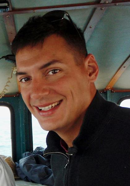 FILE - This undated file photo obtained from the family of Austin Tice shows American freelance journalist Austin Tice, 31, who has been missing in Syria since August 2012. Behind a veil of secrecy, at least 30 journalists have been kidnapped or have disappeared in Syria – held and threatened with death by extremists or taken captive by gangs seeking ransom. (AP Photo/Family of Austin Tice, File)